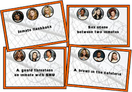 orange is the new black drinking game printable instant download