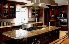 nice dark chocolate kitchen cabinets also home interior ideas with