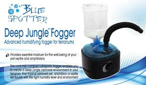 amazon com deep jungle fogger advanced humidifying fogger for