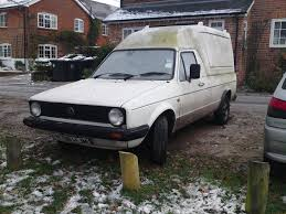 volkswagen caddy pickup 1990 vw caddy pickup 1 6 vw really maximised the mk1 golf u2026 flickr