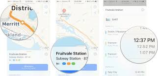 Map Mas Ios How To Find The Best Transit Route In Apple Maps On Iphone Imore