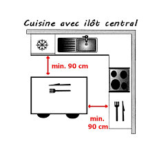 dimension ilot central cuisine ilot central cuisine dimension rutistica home solutions