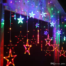 decorative led lights for home romantic star led string fairy lights curtain home holiday l