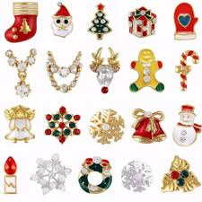 online shop 10pcs gold silver metal 3d diamonds nail art christmas