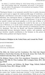 freedom of religion in the united states and around the world