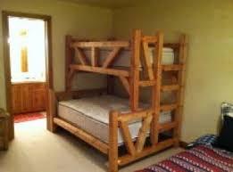 Arizona Adult Log Bunk Beds Adult Strong Bunk Beds For Arizona - Timber bunk bed