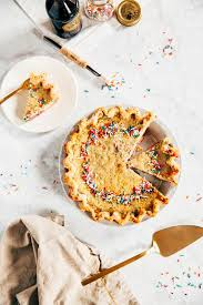 American Flag Pie Recipe Funfetti Buttermilk Chess Pie 12 Months Of Humhipieamonth