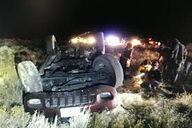 6 college students hospitalized following rollover crash east