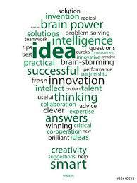 ideas tag cloud light bulb answers solutions eureka innovation