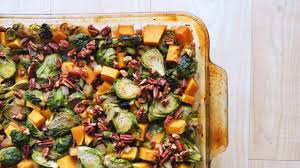 roasted fall vegetable medley vegan thanksgiving recipe