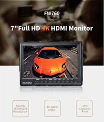 amazon com feelworld fw760 7 inch ips full hd 1920x1200 on
