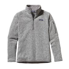 pullover sweater patagonia s better sweater quarter zip fleece