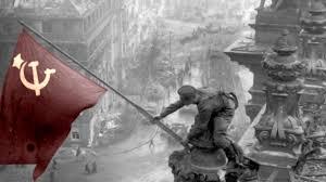 Soviet Russian Flag Black And White Ussr Berlin World War Ii Soviet Russia Soviet