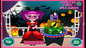little princess first halloween cartoon video game for kids