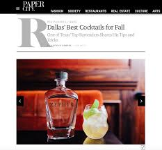 zephyr gin featured on paper city alongside best cocktail recipes