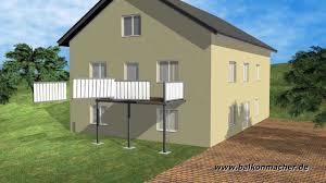 balkon stahlkonstruktion preis produktvideo balkonmacher anbaubalkone vorstellbalkone in