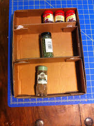 Flat Spice Rack Spice Rack From Cardboard 6 Steps