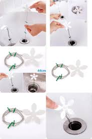 visit to buy 2pcs shower curtain hair catcher stopper clog sink