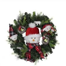 24 pre lit battery operated musical artificial christmas wreath