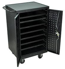 Diy Laptop Charging Station Laptop Storage Charging Cart For 12 Laptops The Best Cart