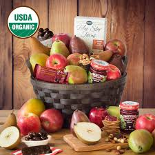 organic fruit basket delivery organic fruit baskets gifts the fruit company