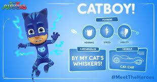 meet catboy owlette gekko heroes pj masks fun