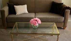 Oval Glass Coffee Table by Giving Large Accent Tables Tags High End Coffee Tables Trestle