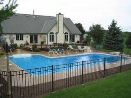 Backyard Inground Swimming Pools 64 Best L Shaped Pools Images On Pinterest Backyard Ideas Bar