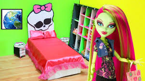 how to make a universal monster high doll bed doll crafts