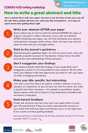 how to write research paper abstract top tips 5 how to write a great abstract and title comdis hsd