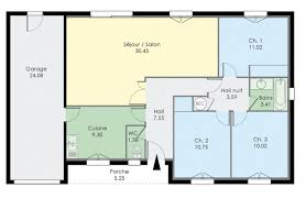 plan maison 3 chambre plan de maison 3 chambres 70 m maison tage 3 chambres sellier prau