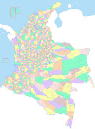 Colombian Map Map Of Colombia Political Map Of Colombia Colombia Departments