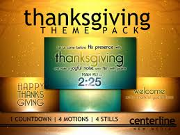 thanksgiving theme pack centerline new media worshiphouse media