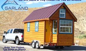 tiny house on wheels u2013 garland building services