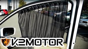 vip lexus van k2 motor installation video universal vip sliding window curtain