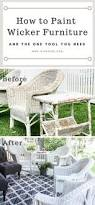 Restore Wicker Patio Furniture - best 25 painted wicker furniture ideas only on pinterest