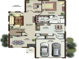 Floor Plan Software 3d Modern House 3d Floor Plans Imagesimple Design Laferida Com