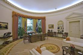 Trump Oval Office Rug Trump Decorates Oval Office In Shades Preferred By Reagan World