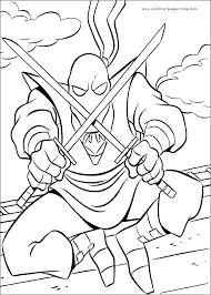 free coloring pages cartoon ninja turtle 10973