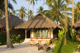 beach bungalow thailand stock photo picture and royalty free
