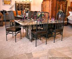 Marble Dining Tables Stone Dining Room Tables Marble Tables - Granite dining room sets