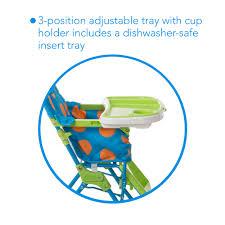 Simple High Chair Cosco Monster Shelley High Chair U0026 Playard Value Set Walmart Com
