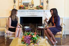 does michelle obama wear hair pieces melania trump wore a funereal black dress at the white house