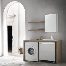 Rollwagen Bad N31 Atlantic Bad Möbel Für Die Waschmaschine Arredaclick