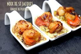 cuisiner des noix de jacques noix de jacques fondue de poireaux recettes faciles