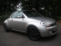 ford streetka 1 6i winter edition 2dr roof off leather interior 3