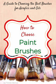 what is the best paint to use on oak kitchen cabinets guide to choosing the best paint brushes for acrylics and