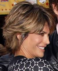 texture of rennas hair layered choppy highlighted short haircut for women hair and