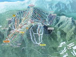 Squaw Trail Map California Nevada Ski Resorts
