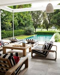 black and white patio furniture for stylish household decor popular